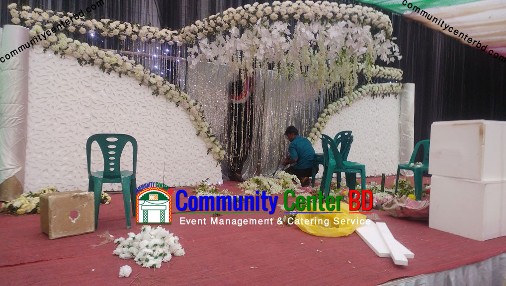 outdoor stage decoration bangladesh