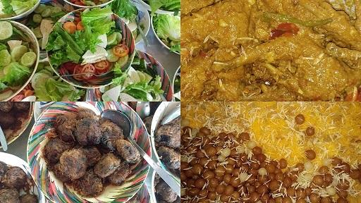 Chicken Jali Kabab Jorda Salad