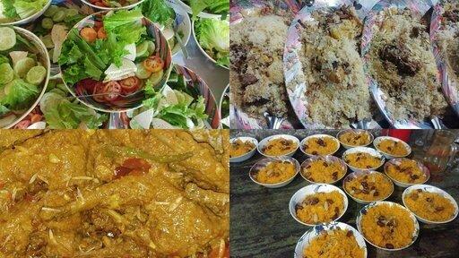 Beef Kachhi Murgi Roast Salad Jorda