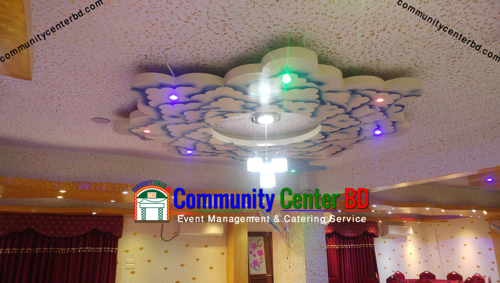 Dream World Convention Center Ceiling Design