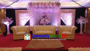 Stage Design for Wedding